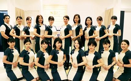 湘南美容外科クリニックの女性スタッフのイメージ
